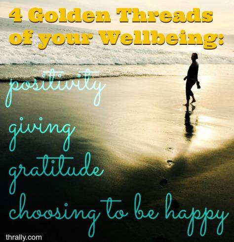 4 golden threads of wellbeing